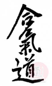 aikido_saotome_kanji